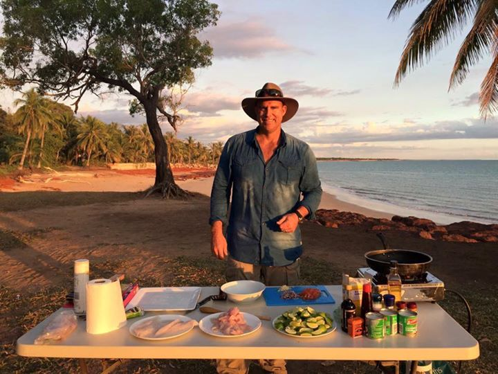 matthew-hayden-cooking-fish